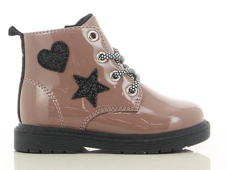 V+J dziewczęce buty za kostkę 20 brązowe