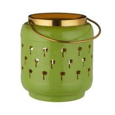 Butlers Lucerna palmy 17 cm - sv. zelená