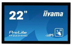 iiyama ProLite LED monitor, 54,6cm, IPS FHD, na dotik, Open Frame (TF2234MC-B6AGB)