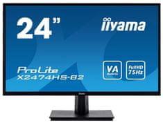 "iiyama ProLite X2474HS-B2, LED monitor, 60 cm (23,6"")"