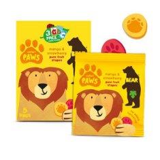 Bear Želé tlapky Safari mango a jahoda 5x20 g