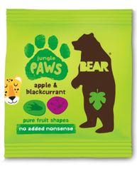 Bear Želé tlapky Jungle jablko a černý rybíz 5x20 g