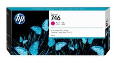 HP 746 Magenta, kartuša za DesignJet Z6/Z9, 300 ml