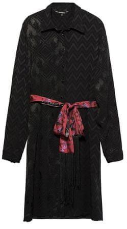 Desigual ženska haljina Vest Alexandra, 38, crna