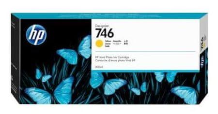 HP 746 rumena, kartuša za DesignJet Z6/Z9, 300 ml