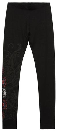 Desigual ženske pajkice Legging Dann, S, črna