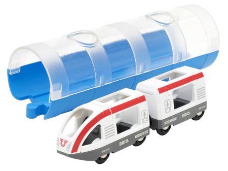Brio World 33890 Tunel i putnički vlak