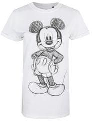 Disney Mickey Forward Sketch ženska majica s kratkimi rokavi