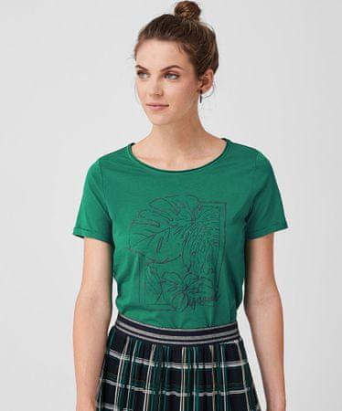 s.Oliver dámské tričko 14.907.32.7727 34 zelená