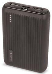 Forever Power banka PTB-05M 10 000 mAh, čierna GSM036167