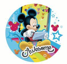 Florensuc Jedlý papír Mickey a přátelé - 21cm