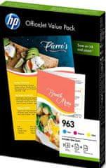 HP 963 Office Value Pack (6JR42AE)