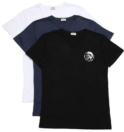 Diesel férfi póló 3 darabos kiszerelésben Michael S színes