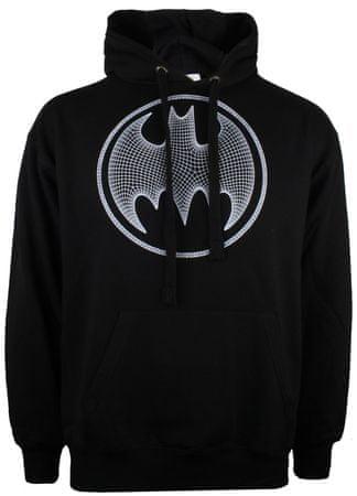 TM & DC comics Batman 3D moški pulover, črn, L