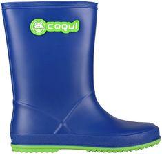 Coqui Buty dziecięce Rain y Blue / Lime 8506-100-5014