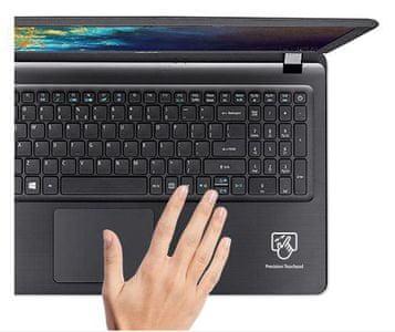 pohodlné použití klávesnice