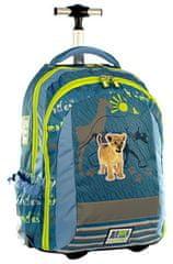 Animal Planet šolski nahrbtnik na kolesih, levček