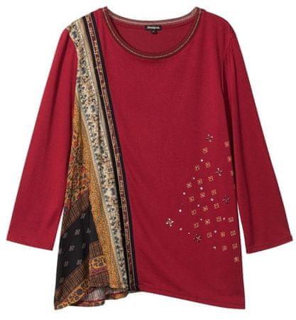 Desigual Ts Inge ženska majica, rdeča, S