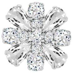 Preciosa Broszka magnetyczna z przezroczystym i kryształy frezji 2268 00