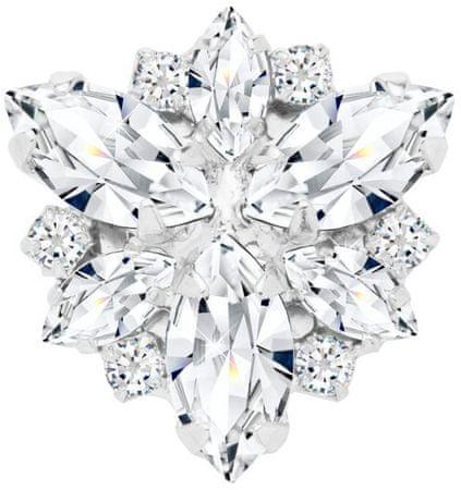Preciosa Magnetna broška s prozornimi kristali Irisa 2269 00