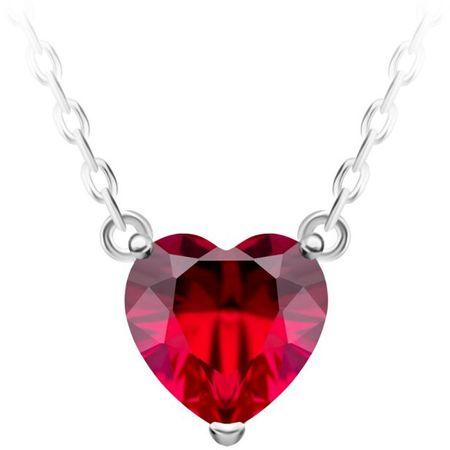 Preciosa Srebrna ogrlica Cher 5236 63 srebro 925/1000