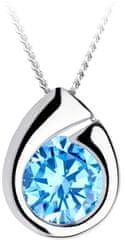 Preciosa Stříbrný náhrdelník Wispy 5105 67 (řetízek, přívěsek) stříbro 925/1000