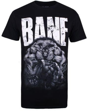 TM & DC comics pánské tričko Bane M černá