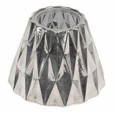 Woodwick stínítko na svíčku, stříbrné