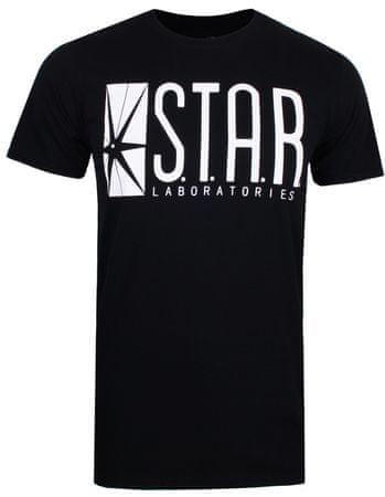TM & DC comics Star Labs muška majica, crna, L
