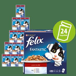 Felix Fantastic húsválaszték 24x100g