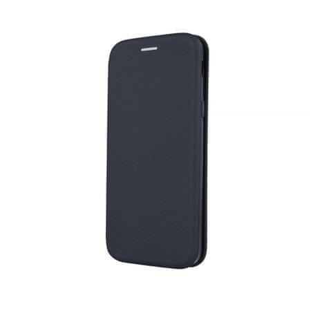 Onasi Glamur torbica za Huawei Y7 2019, preklopna, črna