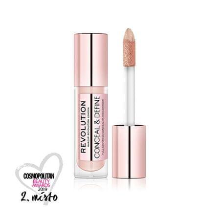 Makeup Revolution (Conceal & Define Concealer) 3,4 ml (cień C 3 Supersize)