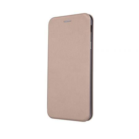 Onasi Glamur torbica za Huawei Y7, preklopna, zlata