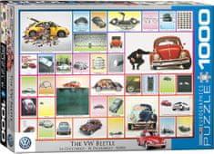 EuroGraphics Puzzle Volkswagen Brouk 1000 dílků