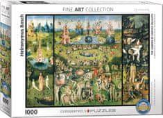 EuroGraphics Puzzle Zahrada pozemských rozkoší 1000 dílků