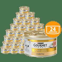 Gourmet Gold pástétom pulykával 24 x 85g