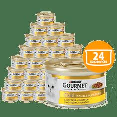 Gourmet Gold govedina i piletina 24 x 85 g