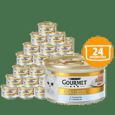 Gourmet mokra karma dla kota Gold pasztet z tuńczykiem 24 x 85 g