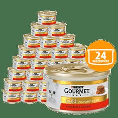 Gourmet Gold Savoury Cake marhával és paradicsommal 24 × 85 g