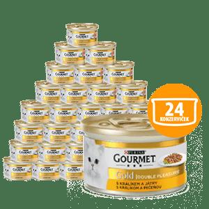 Gourmet Gold zečja jetrica 24 x 85 g
