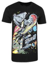 Star Wars Falcon Battle muška majica