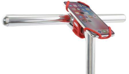"""BK18002-R Bone Bike Tie Pro2 držalo za telefon z diagonalo, za kolo, 4–6,5"""", rdeče"""