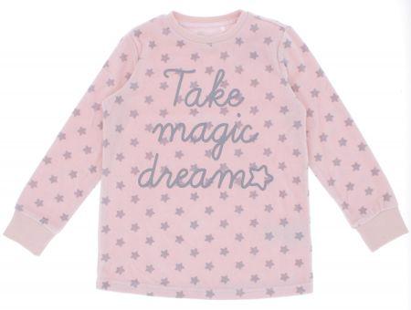 Primigi piżama dziewczęca 130 różowa/szara