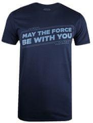 Star Wars Force Slogan muška majica