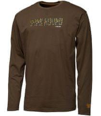 ProLogic Triko Bank Bound Camo T-shirt Long Sleeve