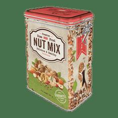 Postershop Plechová dóza s klipem - Nut Mix