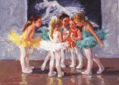 Art puzzle Puzzle 200 dielikov Little Ballerinas
