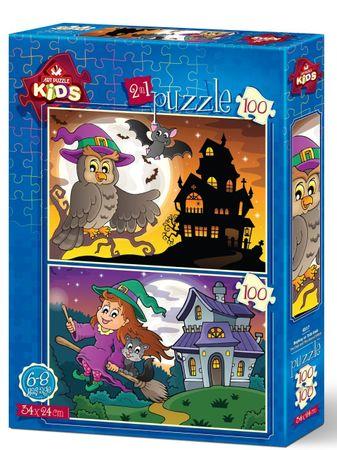 Art puzzle Puzzle 100 db 2 Puzzles - Rescue