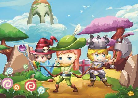 Art puzzle XXL db - Little Hero