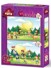 Art puzzle 2 Puzzles - Kids